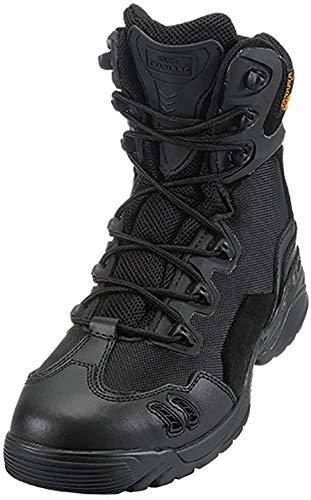 Suetar Zapatos de Senderismo de Cuero al Aire Libre Militares ntideslizantes y Transpirables Botas de montañismo tácticos Profesionales