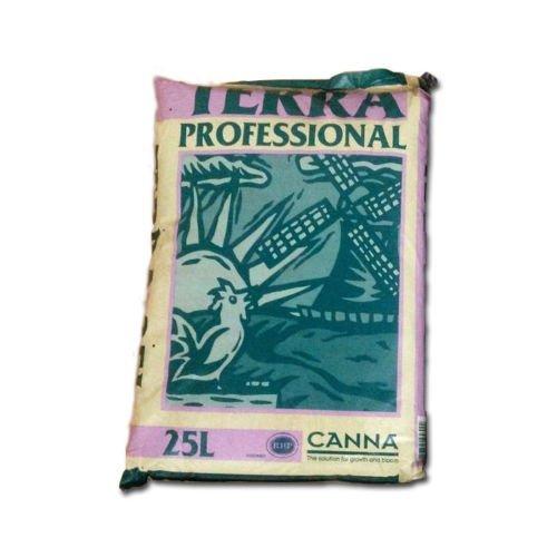 Sustrato Vegetal para Cultivo de Tierra Canna Terra Professional (25L)