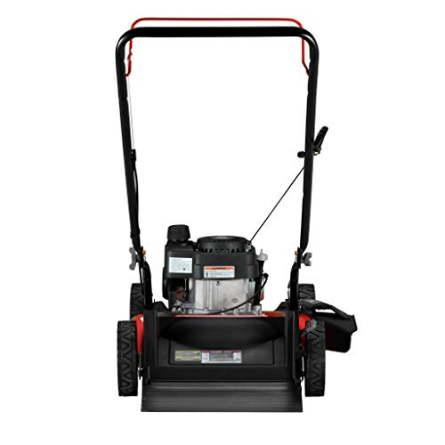 Craftsman CMXGMAM201104 21 in. Lawn Mower-140cc OHV Engine Push Mower for Small to Medium Yards, Red