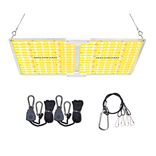 MELONFARM 2000W LED Grow Light, Compatible with Samsung LM301B Diodes & MeanWell Driver, High Performance Full Spectrum for Indoor Plants Veg & Bloom, for 3 x 3 ft Grow Tent