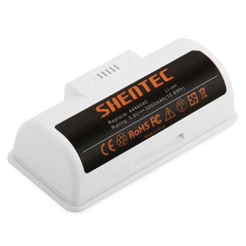 Shentec 3.6V 3000mAh Li-ion Ersatzbatterie Kompatibel mit iRobot Braava Jet 240 Bodenwischrobotern, Li-Ionen 3.6V Batterie