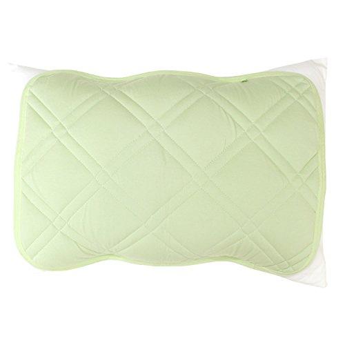 メリーナイト 枕パッド グリーン 40×50 MOMP800-53