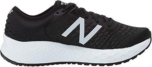 New Balance Fresh Foam 1080v9, Zapatillas de Running para Mujer, Negro (Black/White), 43.5 EU