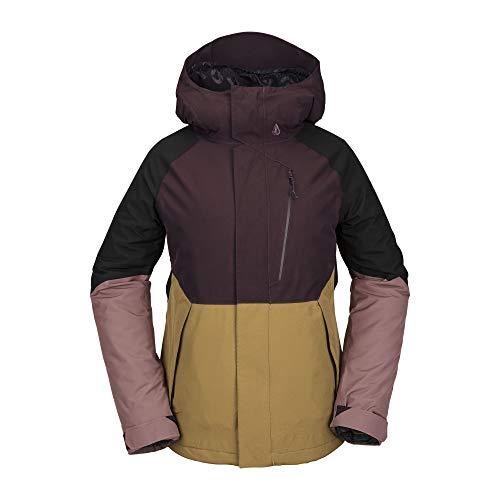Volcom Aris Gore-TEX Insulated Snowboard Jacket Womens Black Red