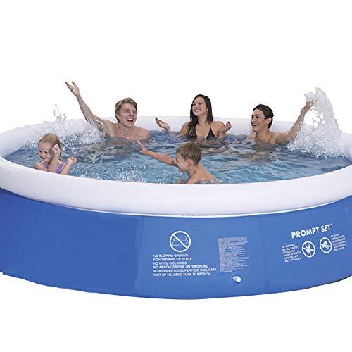 プール 家庭用プール 大型 エアープール ビニールプール 超BIG イージーセット ジャンボファミリープール