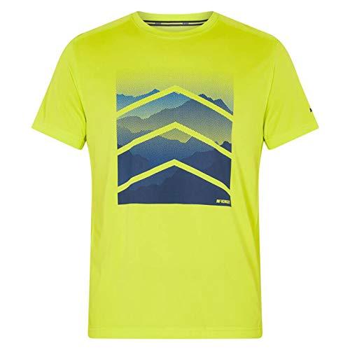 McKinley Camiseta Rakka UX para Hombre, Hombre, Camiseta para Hombre, 302439, Verde, 3XL