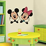 YttBuy - calcomanía decorativo para pared con diseño de Mickey Mouse Minnie Mouse (15' x 22')