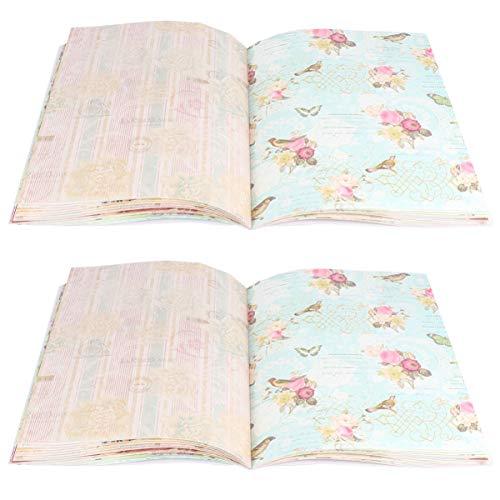 Artibetter Cadeaupapier Boeken Creatief Duurzaam Cadeaupapier Voor Cadeauboeken 2 Set 48St