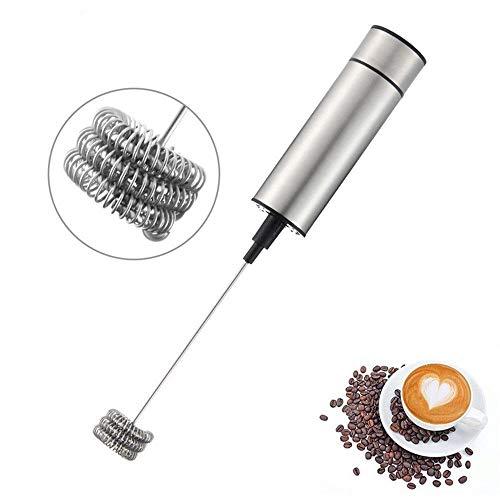 BGJK Agitador eléctrico de mano, aireador, agitador, agitador de café de cocina que hace la herramienta