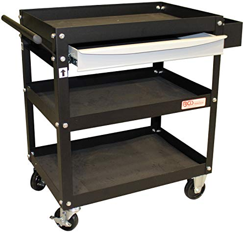 BGS 4200 | Werkstattwagen | 1 Schublade, offen | Montagewagen | Rollwagen | Werkzeugwagen