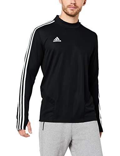 adidas Herren TIRO19 TR TOP Sweatshirt, Black/Granite/White, M
