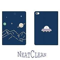 NeatClean ipad pro11 ケース 2020 第二世代 ペンシル収納 かわいい かっこいい 耐衝撃 魅力的 アイパッドケース 二つ折り ipad 9.7 ケース pencil収納 iPad 第六世代 9.7 インチ ケース 2018 iPad 第五世代 9.7 インチ ケース 2017 ipad air10.5 ケース Air3ケース Air2ケース Airケース 手帳型 iPad mini5ケース mini4ケース mini3ケース mini2ケース miniケース アイパッドカバー ipad pro11 2020 ケース ペンシル ipad pro10.5 ケース おしゃれ ipad 9.7 ケース ペンシル収納 お洒落 山 宇宙 シンプル おもしろい(iPad Pro 11(第二世代),c柄)