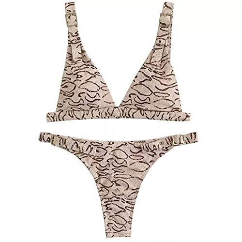 BAJIE Bikini Vestito Sexy DING Salto Bikini Donna Spingendo Heldrower Costumi da Bagno Gamba Alta Bikini Estate Bidet Abbigliamento da Spiaggia