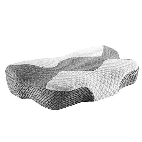 Blackpoolal Almohada de lujo para dormir de lado para dormir de lado de la espalda, suave y de apoyo hipoalergénico, 1 paquete