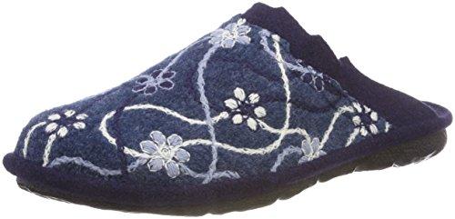 Romika Damen Mikado 100 Pantoletten, Blau (Ocean-Multi 532), 39 EU
