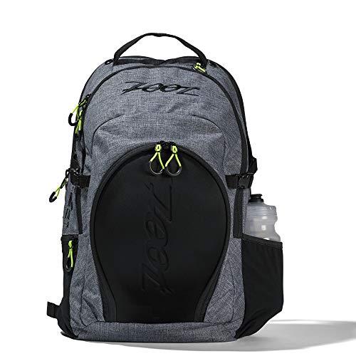 Zoot Unisex Tri Rucksack Design Canvas Gray mit Helmfach und Nassfach für Training und Wettkampf