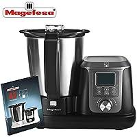 MAGEFESA 02RO4550000 02RO4550000-Robot de Cocina Modelo MAGCHEF Black MGF4550, 1200 W, Negro