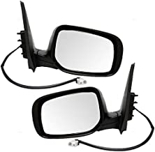 Driver and Passenger Power Side View Mirrors Heated Replacement for Toyota 8790902A81 8790802B01 AutoAndArt