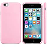 Mcart's Silicone iPhone 6/6S Case, Slim Fit Liquid Silicone Gel Rubber iPhone 6/6S