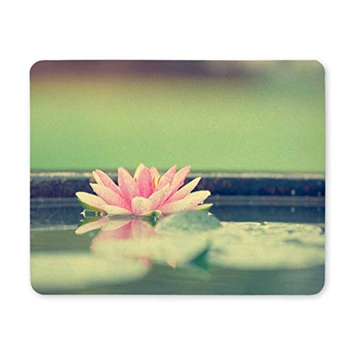 Gaming Mouse Pad, Mouse Pad Lotus Flower Mouse Pad Gaming