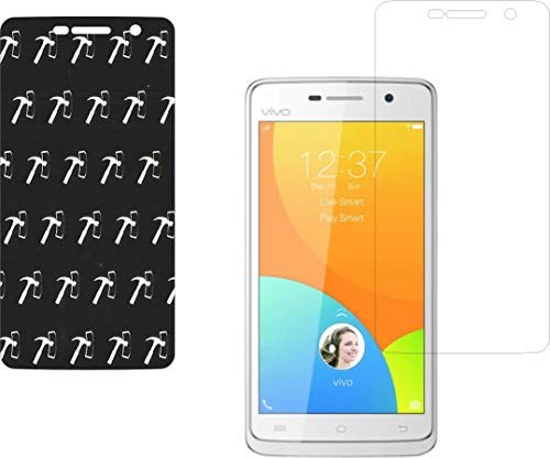 IndiForce Non-BREAKABLE 3 Layer, 5D Gorilla Glass Screen Guard for Vivo Y21 -Hammer-Tested Screen Protector, Not a Odinary Tempered Glass