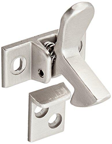 Slide-Co 244691 Cabinet Door Elbow Catch, Satin Nickel Plated