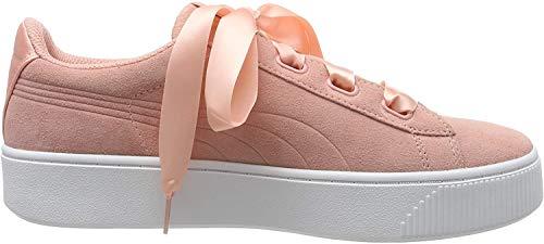 Puma Damen Vikky Stacked Ribbon S Sneaker, Pink (Peach Bud-Peach Bud), 39 EU