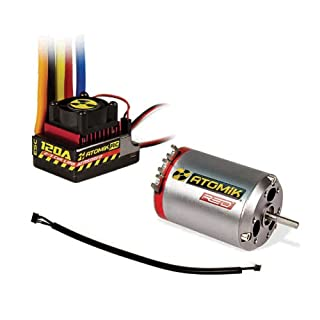 Atomik Red 540 6.5T 5300kv Brushless Sensored Motor 120A ESC Combo Fits:  1:10 RC Traxxas, Team Associated, Losi, and more (B00J8LU10G) | Amazon  price tracker / tracking, Amazon price history charts, AmazonCamelCamelCamel