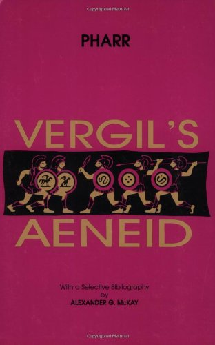 Vergil's Aeneid, Books I-VI (Latin Edition) (Bks. 1-6) (English and Latin Edition)