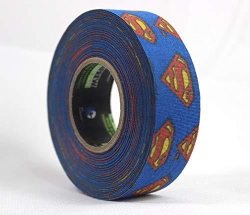 Renfrew Schlägertape Batman, Superman, Canada Hockey Tape 24mmx25m (Superman)