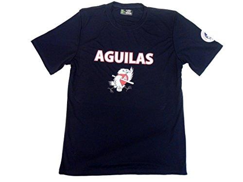 Aguilas de Mexicali – Camiseta de béisbol para hombre (azul oscuro), Azul oscuro, Large
