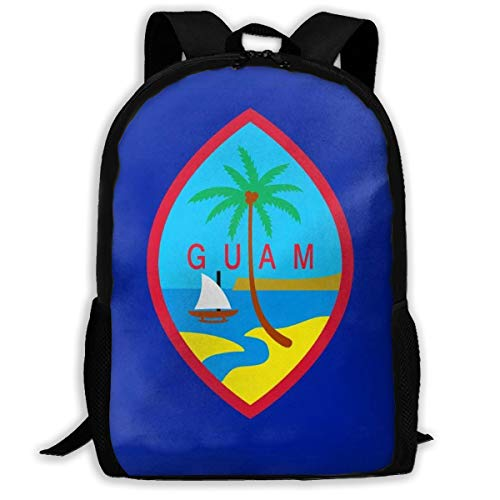 Oswz Guam Travel Backpack Insulated Soft Lunch Cooler for Men Women, Best for Picnic, Hiking, Travel, Beach, Sports, Work