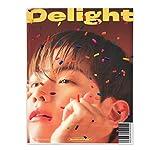 EXO BAEKHYUN 2nd Mini Album - Delight [ HONEY ver. ] CD + Booklet + Folded Poster(On pack) + Postcard + Message Card + Sticker + Photocard + FREE GIFT