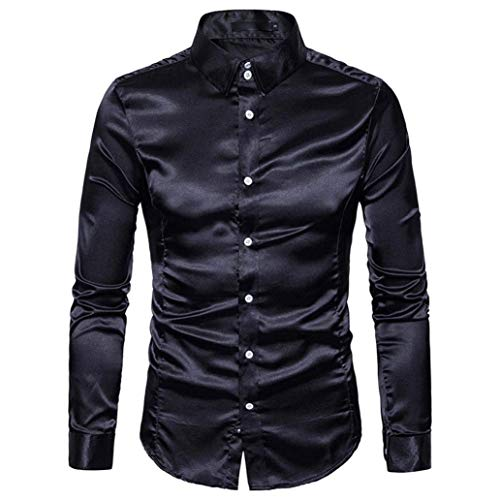 Camisas De Manga Larga para Hombres De Camisa Fiesta para Hombres Camisa...