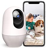 Nooie Pet dog camera, Baby Monitor WiFi 1080P indoor Wireless Camera, IP Home Security Camera, Motion Tracking Night Vision Two-Way Audio Motion and Sound Detection, Works with Alexa