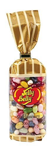 Jelly Belly Tie Tops - 50 Flavours Mix 300g Pack of 1