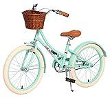 ACEGER Girls Bike with Basket, Kids Bike for 6-9...
