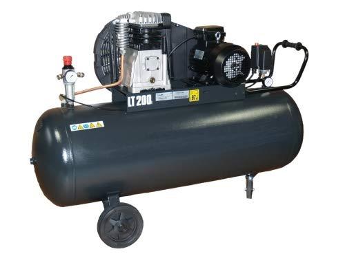 Kompressor 2 Zylinder 600-200 - liegender Kessel -...
