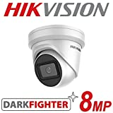 HIKVISION 8MP IP POE CCTV DOME TURRET CAMERA 4K UHD HD 2.8MM OUTDOOR DARKFIGHTER