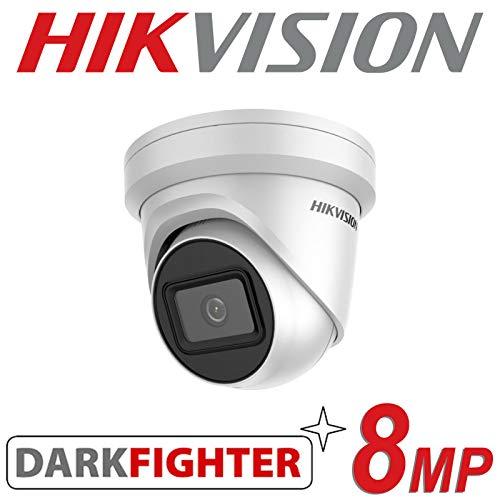 HIKVISION 8 MP IP POE CCTV Dome Turret Kamera 4K UHD HD 2,8 mm Outdoor Darkfighter