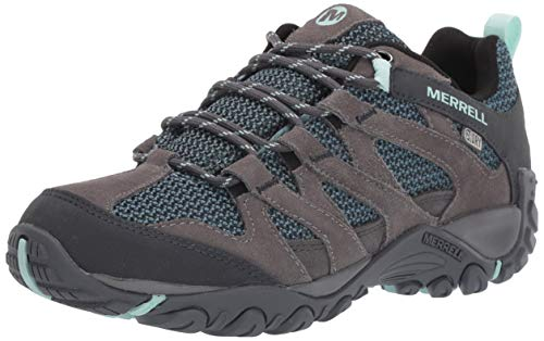 Merrell Women's ALVERSTONE Waterproof Hiking Shoe, Charcoal, 08.5 M US