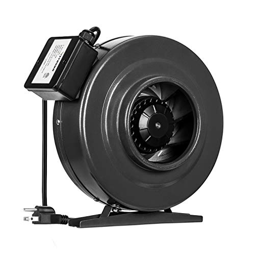 VIVOSUN 6 Inch 440 CFM Inline Duct Fan Vent Blower Ventilation Fan for Grow Tent ETL Certified