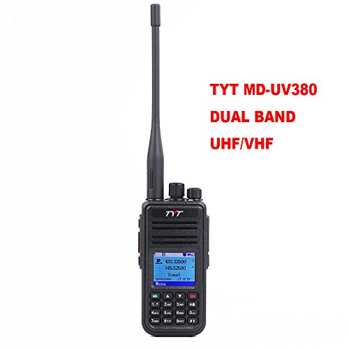 TYT MD-UV380 Dual Band VHF UHF DMR Radio Handheld Walkie Tallkie