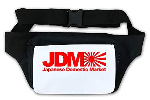 JDM Japanese Domestic Market Rising Sun Flag Graph Waist Bag