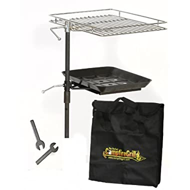 The Perfect CampfireGrill Rebel Grill, 10 Inches by 12 Inches
