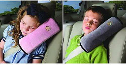Ownsig-Almohadillas Para Cinturón, BlueSterCool Bebé Niños Ajustable Correa De Seguridad Almohada Hombro Proteccion Cinturones De Seguridad De Coches Reposacabezas [Tener Un...