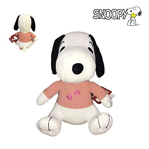 Snoopy Peanuts Baby Plüsch mit rosa Hemd 13