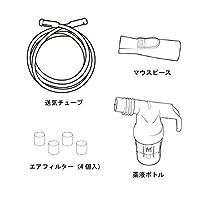 ミニエリート・イノスパイアミニイヤーパック サミ・ザ・シールマスク付(高機能小児用マスク) 吸入器部品 1100240-2 フィリップス