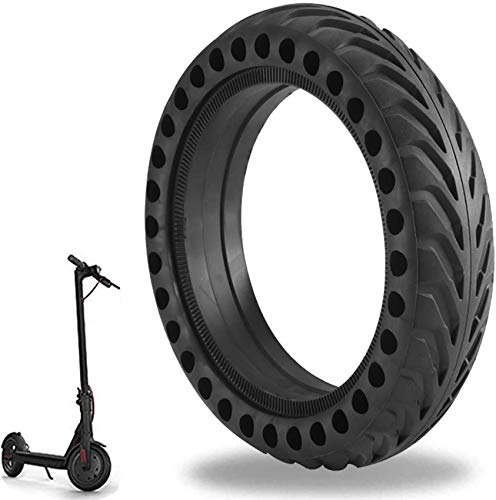 Mi Scooter Tires, Ourleeme Electric M365 Scooter Tire Honeycomb Design,8.5In Rubber Solid Tire Front/Rear Tire,Replacement Wheels for Scooter