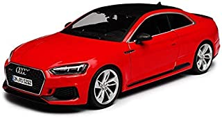 Bburago - 1/24 Scale Model Compatible with Audi RS 5 Coupe (Red)